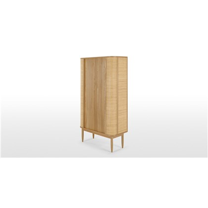 LIANA Glass Woven Cabinet