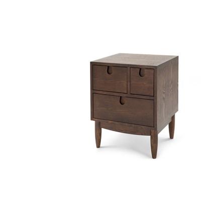 PENN Multi-Drawer Bedside Table