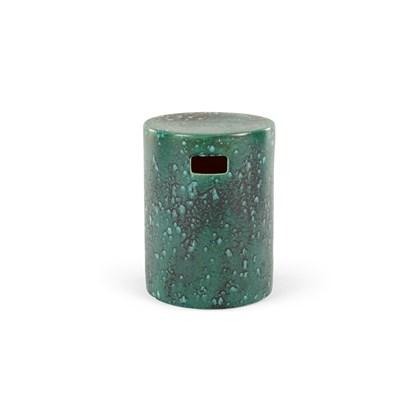 SACHA Reactive Glaze Decorative Stool