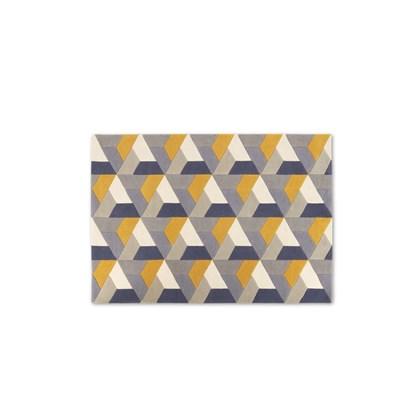 Toki Geometric Wool Rug Large 160 x 230cm