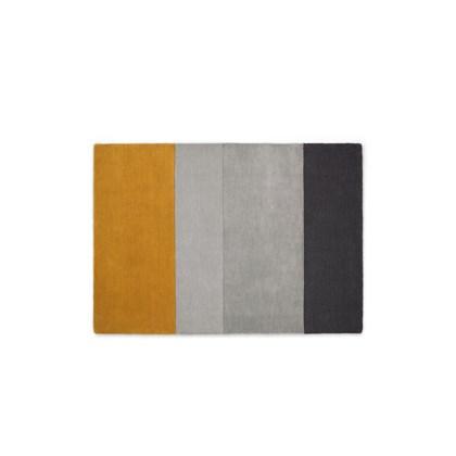 Vance Block Stripe Hand Tufted Wool Rug Large 160 x 230cm